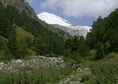 Europa auf´s Dach gestiegen! – Bericht vom Kaukasus 2015