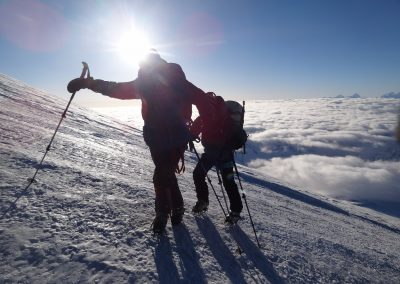 Elbrus-Besteigung 2015