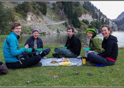 Trekking durch Kirgisien – zu Fuß über die Berge im Süd-Westen des Tien – Schan – Gebirges