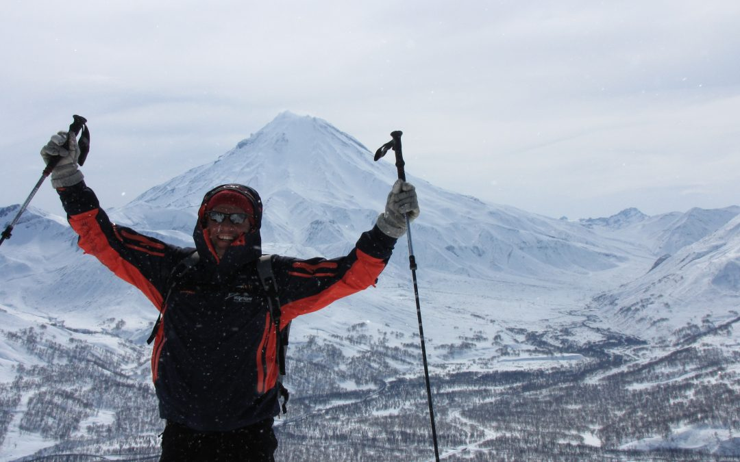 Skitouren auf Kamtschatka