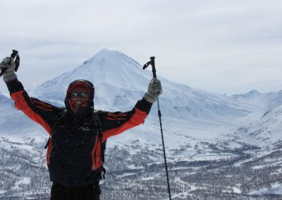 Kamtschatka: Besteigung der Vulkane, Ski Tour