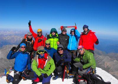 Besteigung des Elbrus von Süden 2014