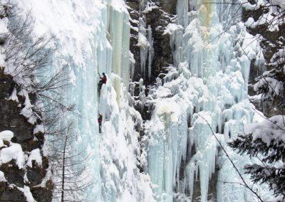 Erlebnisreise Eisklettern