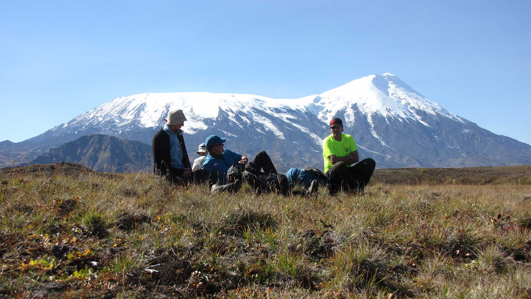 Erlebnis Reise Kamtschatka hohe Vulkangipfel