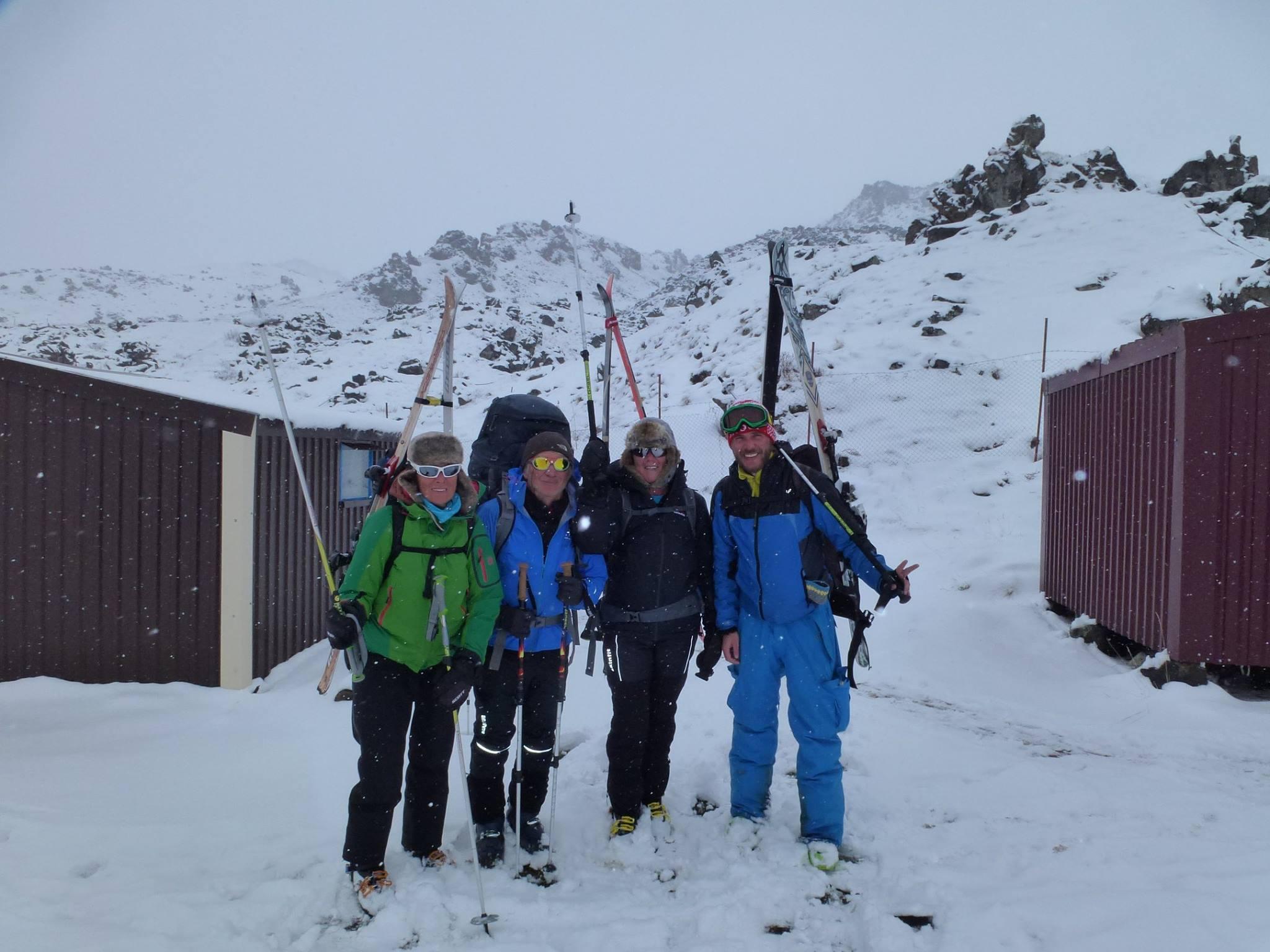 Skitour Überschreitunmg 01.Mai bis 10.Mai 2015
