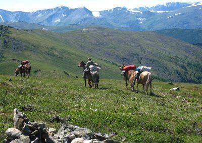 Trekking im Altai