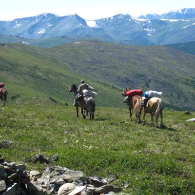 Trekking im Altai, Reisedatum 05.08.-19.08.2018, Reisepreis 2.000,-€