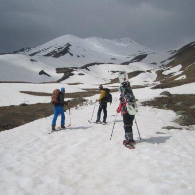 Skitour auf den Kasbek 5050 m