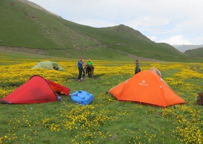 Elbrus Trekking über zwei Pässe
