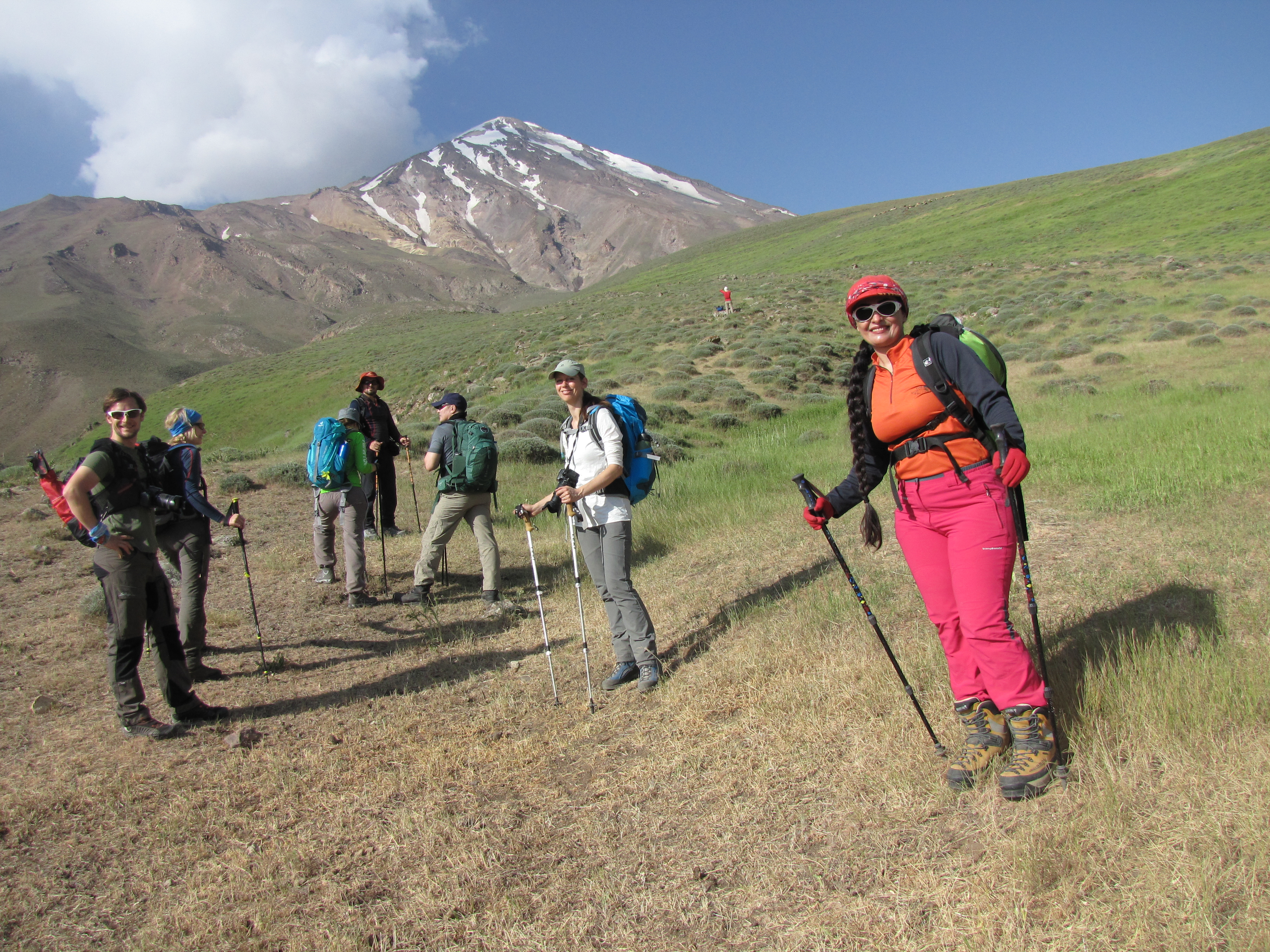 Aufstieg zum Advanced Camp, Mozhgan