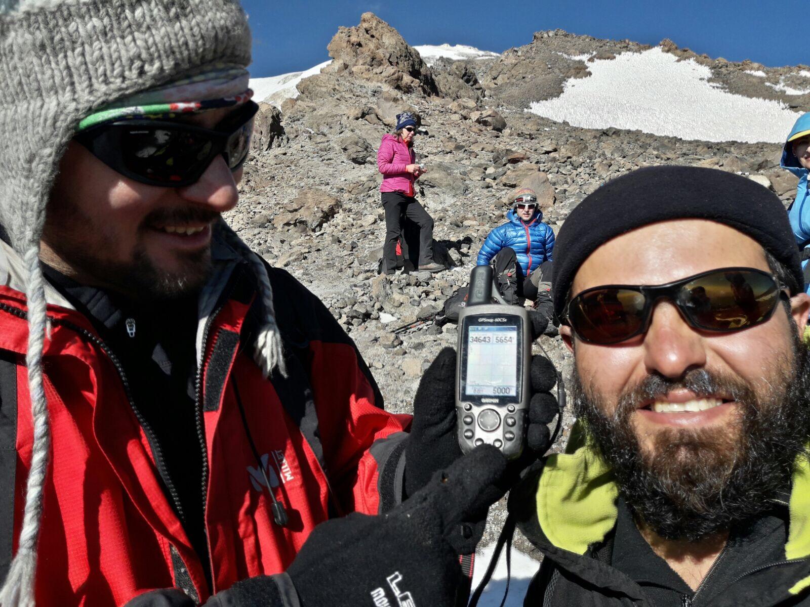 Reisebericht Damavand Besteigung von Norden