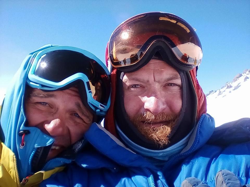 Alexej und Gregori 05.05.2017 auf dem Elbrus