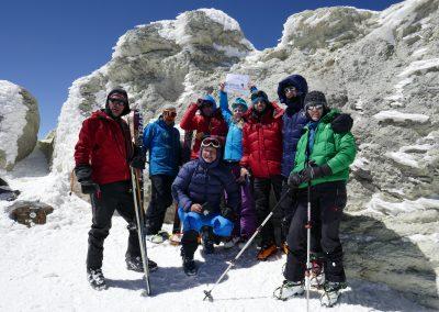 Skitour Damavand und Kultur im Iran April 2017
