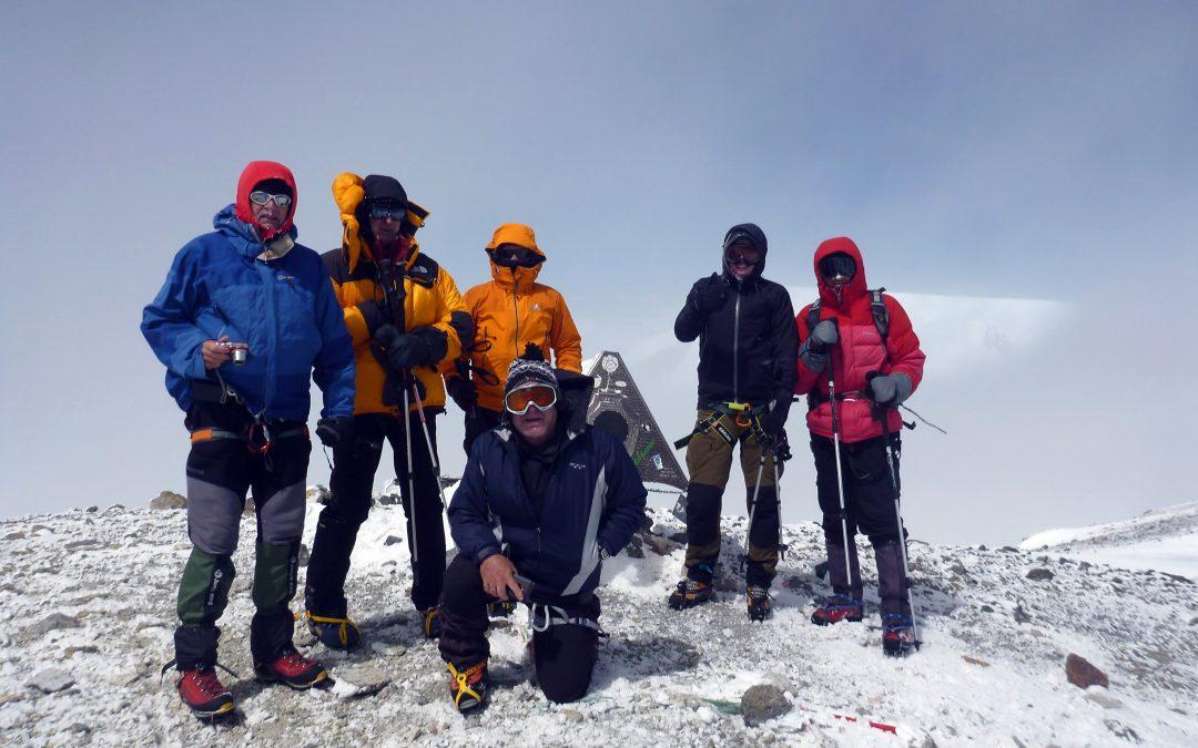 Gipfelerfolge 2017: Elbrus, Damavand, Rasdelnaja