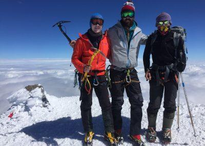 Elbrus von Norden – Gipfelerfolge 2017