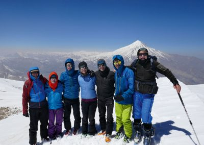 Damavand Skitour und Kultur im Iran