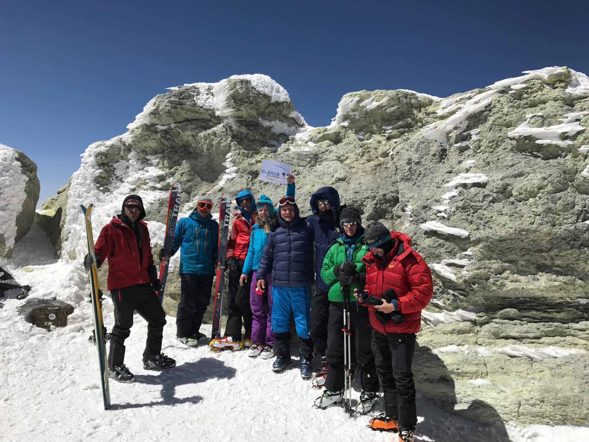 Damavand Skitour und Kultur im Iran 3