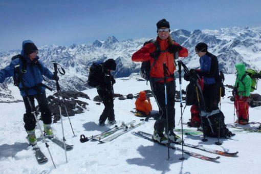 Skitour Elbrus Ueberschreitung