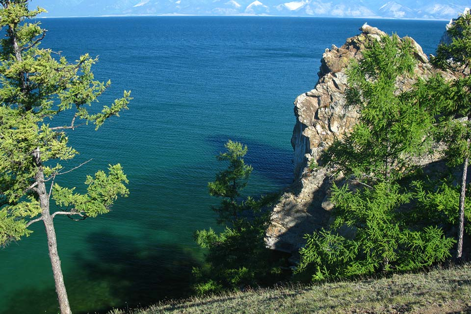 Trekking am Baikalsee