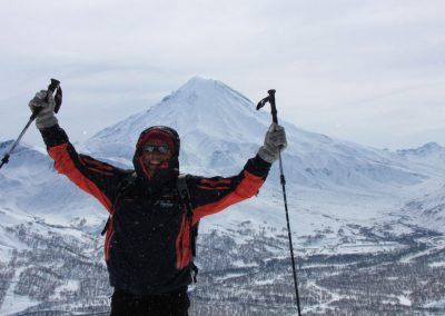 Kamtschatka: Ski Touren auf die Vulkane