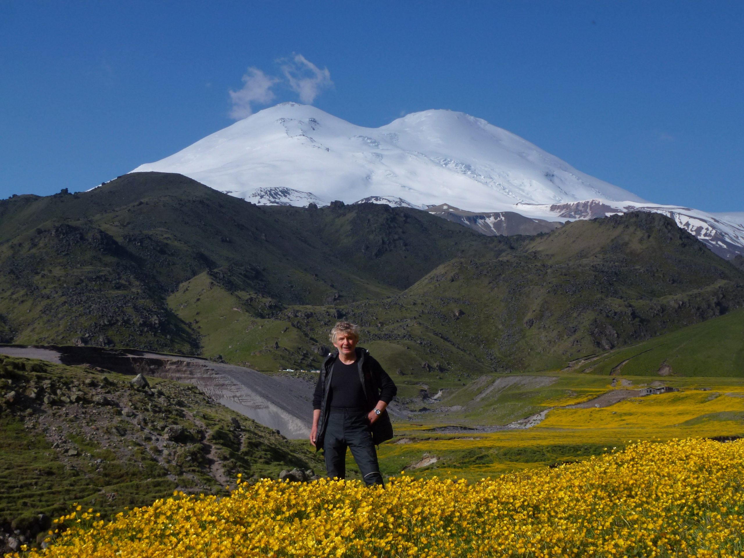 Elbrus von Norden