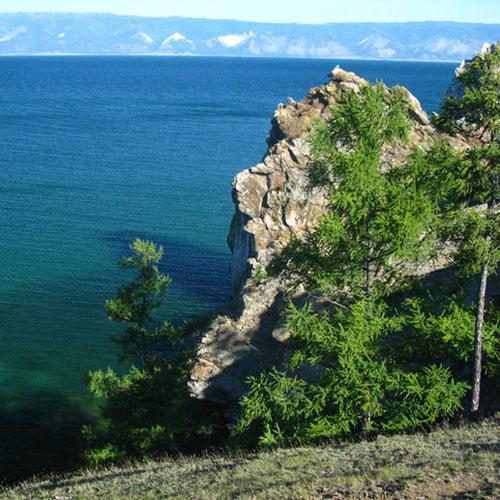 Baikalsee im Sommer