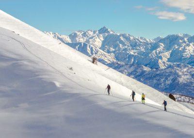 Skitouren in Kirgisien im Bergdorf Arslanbob