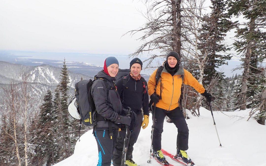 Skitouren am Baikalsee